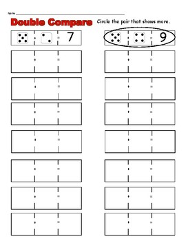 Double Compare with Dice