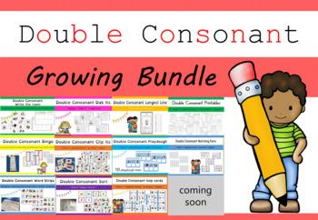 Double Consonant GROWING BUNDLE