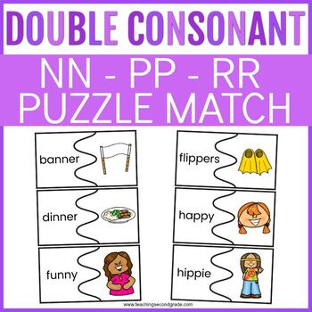 Double Consonant Activities with nn, pp, rr