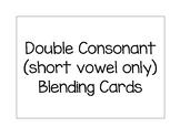 Double Consonant Blending Cards