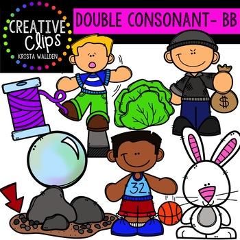 Double Consonant Clipart: BB {Creative Clips Clipart}