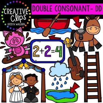 Double Consonant Clipart: DD {Creative Clips Clipart}