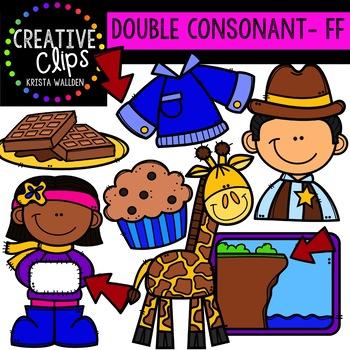 Double Consonant Clipart: FF {Creative Clips Clipart}