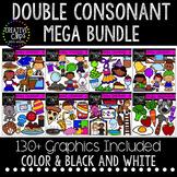 Double Consonant Clipart Mega Bundle {Creative Clips Clipart}