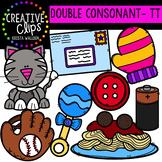 Double Consonant Clipart: TT {Creative Clips Clipart}