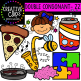 Double Consonant Clipart: ZZ {Creative Clips Clipart}