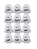 Double Consonant Ending Ghost Matching Activity