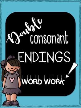 Double Consonant Endings