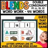 Double Consonant Endings (FF, LL, SS, ZZ)
