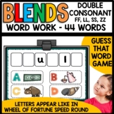 Double Final Consonants Word Work Activity   Early Finisher Activity