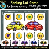 Double Consonant Endings Sorting Game