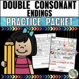 Double Final Consonants Practice Packet