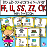 Double Consonant Endings SS,ZZ,FF,ZZ,CK Write the Room
