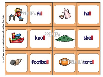 Double Consonant Endings (ff,ss,ll,zz) Game