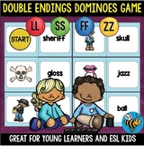 Double Consonant Endings (ff,ss,ll,zz) Game