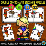 Double Consonant Endings (ll, ff, ss, zz) Puzzles