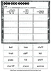 Double Consonant Endings (ll, ff, ss, zz) Sorts | Cut and Paste Worksheets