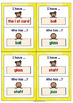 "Double Consonant Endings (ll, ss, ff, zz) Game ""I have, who has"""