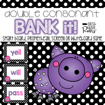 Double Consonant Letters Bank It Projectable Games