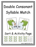 Double Consonant Match Up Syllables