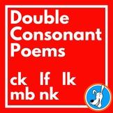 Consonants: Double Consonant Poems