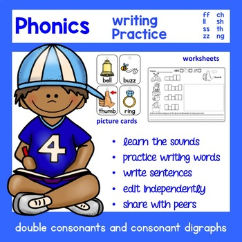 Double Consonant and Consonant Digraph Word Work