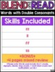 Double Consonant Worksheets | Blending & Reading Words with Double Consonants