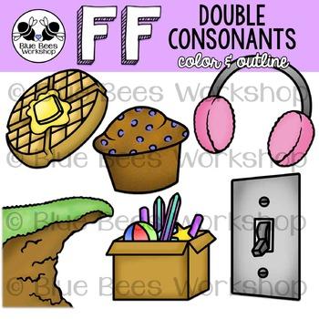 Double Consonants Clip Art - FF
