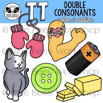 Double Consonants Clip Art - TT
