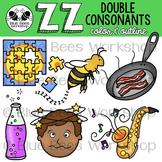 Double Consonants Clip Art - ZZ