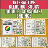 Double Consonants Blending and Segmenting Books (4 Books) - Adapted Books