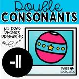 Double Consonants NO PREP Printables (-LL)