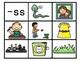 Double Consonants Phonics Center:  Picture Sort