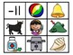 Double Consonants Phonics Center:  Picture and Word Match