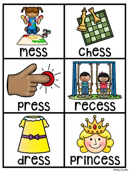 Double Consonants Pocket Chart Centers and Materials
