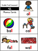 Double Consonants Ending Pocket Charts (-ff, -ll, -ss and -zz words)