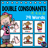 Double Consonants Activities -ff, -ll, -ss and -zz words P