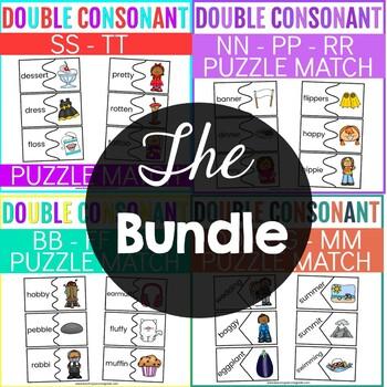 Double Consonants Puzzles