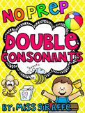 Double Consonants ff ll ss zz Worksheets & Activities {NO PREP!}