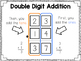 Double Digit Addition {Without Regrouping}