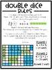 Double Dice! A game to reinforce area and arrays - Partner/Math Center