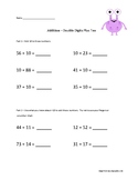 Double Digit - Adding Ten and beyond