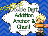Double Digit Addition Anchor Chart and Chant FREEBIE!!!