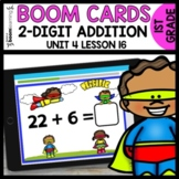 Double-Digit Addition BOOM CARDS | DIGITAL TASK CARDS | Mo