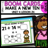 Double-Digit Addition BOOM CARDS | DIGITAL TASK CARDS | Module 4 Lesson 24