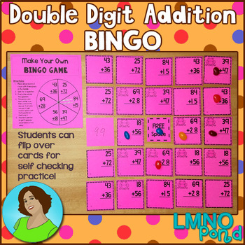 Double Digit Addition Bingo Game