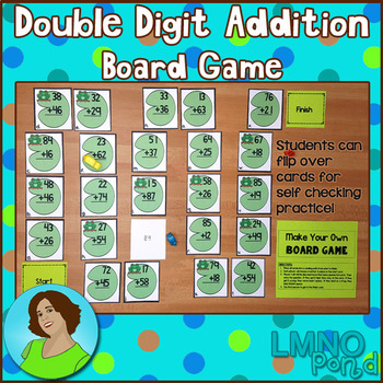Double Digit Addition Board Game