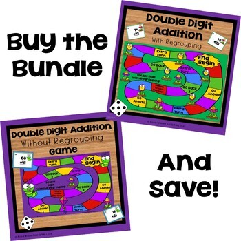Double Digit Addition and Subtraction Bundle