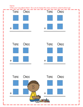 Double Digit Addition Card Game