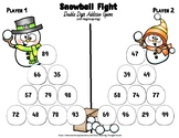 Double Digit Addition Game No Regrouping (Snowball Fight)